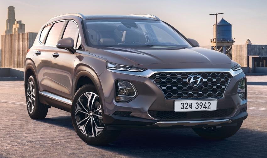 2019 Hyundai Santa Fe – 4th-gen SUV debuts in Korea with 2.0 turbo petrol, 2.2 turbodiesel and 8-speed auto Image #781792