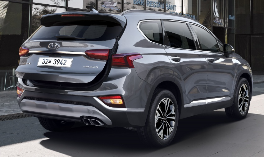 2019 Hyundai Santa Fe – 4th-gen SUV debuts in Korea with 2.0 turbo petrol, 2.2 turbodiesel and 8-speed auto Image #781793