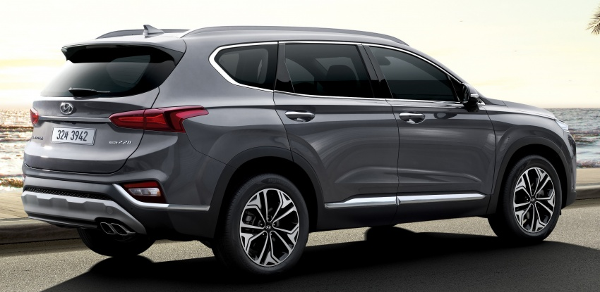 2019 Hyundai Santa Fe – 4th-gen SUV debuts in Korea with 2.0 turbo petrol, 2.2 turbodiesel and 8-speed auto Image #781794