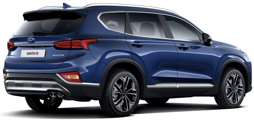 2019 Hyundai Santa Fe – 4th-gen SUV debuts in Korea with 2.0 turbo petrol, 2.2 turbodiesel and 8-speed auto Image #781797