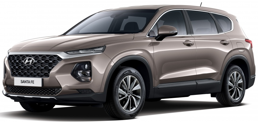 2019 Hyundai Santa Fe – 4th-gen SUV debuts in Korea with 2.0 turbo petrol, 2.2 turbodiesel and 8-speed auto Image #781800