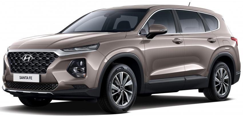 2019 Hyundai Santa Fe – 4th-gen SUV debuts in Korea with 2.0 turbo petrol, 2.2 turbodiesel and 8-speed auto Image #781800