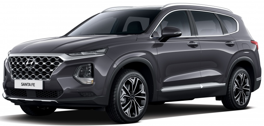 2019 Hyundai Santa Fe – 4th-gen SUV debuts in Korea with 2.0 turbo petrol, 2.2 turbodiesel and 8-speed auto Image #781801