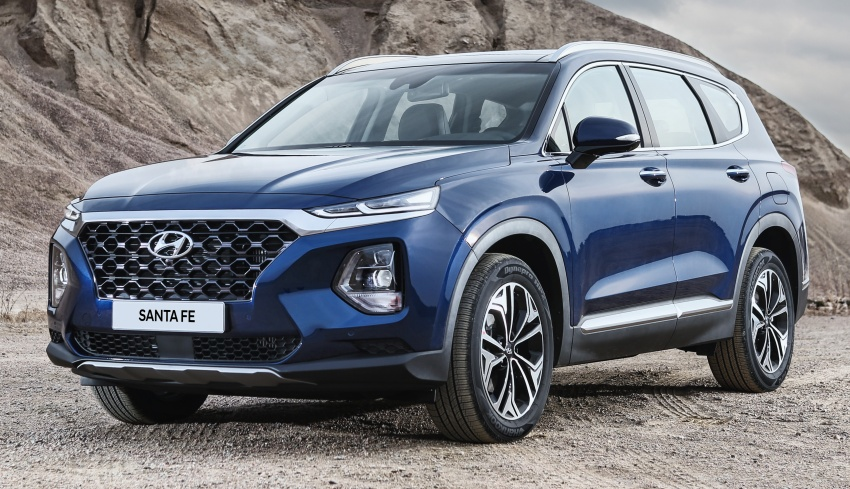 2019 Hyundai Santa Fe – 4th-gen SUV debuts in Korea with 2.0 turbo petrol, 2.2 turbodiesel and 8-speed auto Image #781773