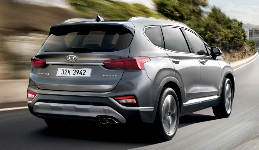2019 Hyundai Santa Fe – 4th-gen SUV debuts in Korea with 2.0 turbo petrol, 2.2 turbodiesel and 8-speed auto Image #781802