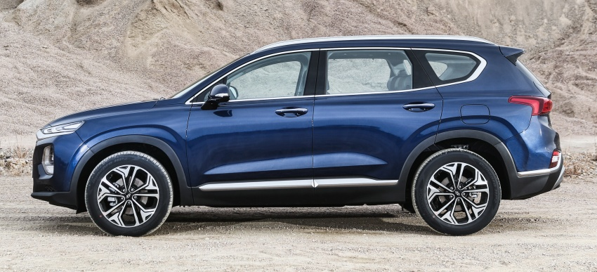 2019 Hyundai Santa Fe – 4th-gen SUV debuts in Korea with 2.0 turbo petrol, 2.2 turbodiesel and 8-speed auto Image #781776