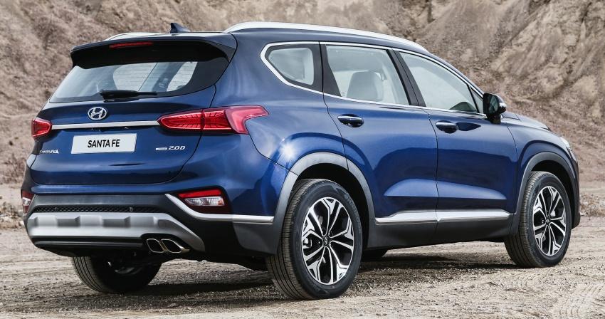 2019 Hyundai Santa Fe – 4th-gen SUV debuts in Korea with 2.0 turbo petrol, 2.2 turbodiesel and 8-speed auto Image #781777
