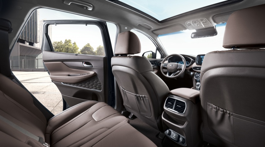 2019 Hyundai Santa Fe – 4th-gen SUV debuts in Korea with 2.0 turbo petrol, 2.2 turbodiesel and 8-speed auto Image #781829