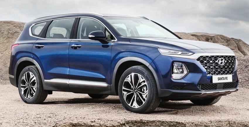 2019 Hyundai Santa Fe – 4th-gen SUV debuts in Korea with 2.0 turbo petrol, 2.2 turbodiesel and 8-speed auto Image #781778