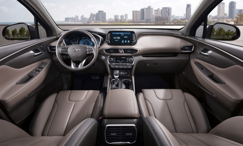 2019 Hyundai Santa Fe – 4th-gen SUV debuts in Korea with 2.0 turbo petrol, 2.2 turbodiesel and 8-speed auto Image #781835
