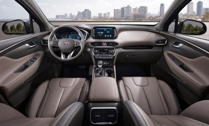 2019 Hyundai Santa Fe – 4th-gen SUV debuts in Korea with 2.0 turbo petrol, 2.2 turbodiesel and 8-speed auto Image #781835