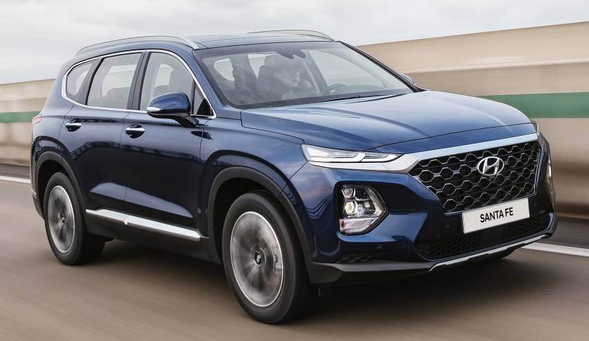 2019 Hyundai Santa Fe – 4th-gen SUV debuts in Korea with 2.0 turbo petrol, 2.2 turbodiesel and 8-speed auto Image #781779