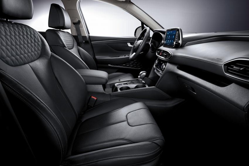 2019 Hyundai Santa Fe – 4th-gen SUV debuts in Korea with 2.0 turbo petrol, 2.2 turbodiesel and 8-speed auto Image #781842