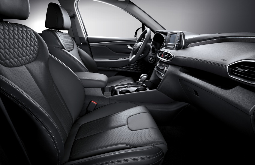2019 Hyundai Santa Fe – 4th-gen SUV debuts in Korea with 2.0 turbo petrol, 2.2 turbodiesel and 8-speed auto Image #781844
