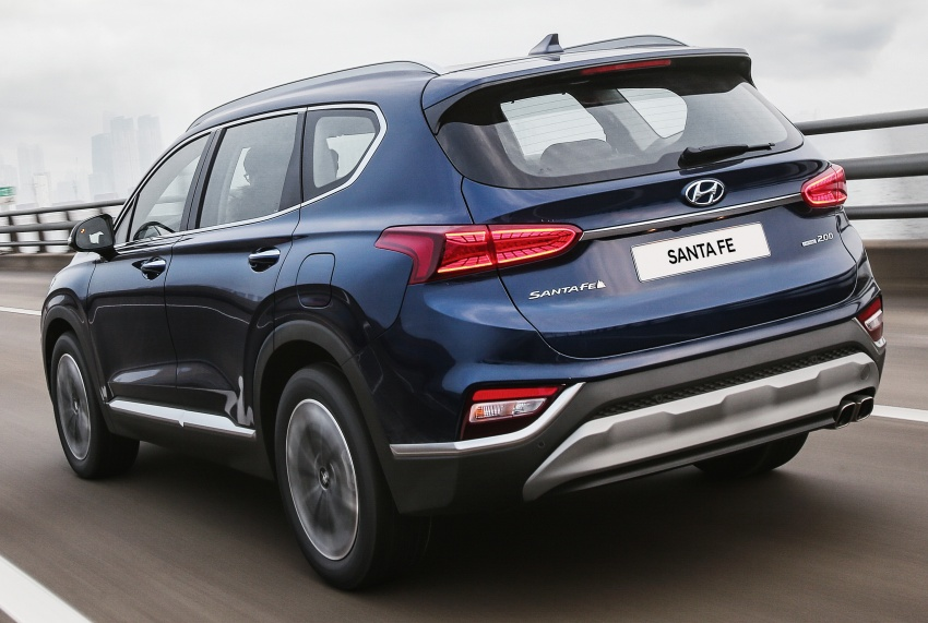 2019 Hyundai Santa Fe – 4th-gen SUV debuts in Korea with 2.0 turbo petrol, 2.2 turbodiesel and 8-speed auto Image #781780