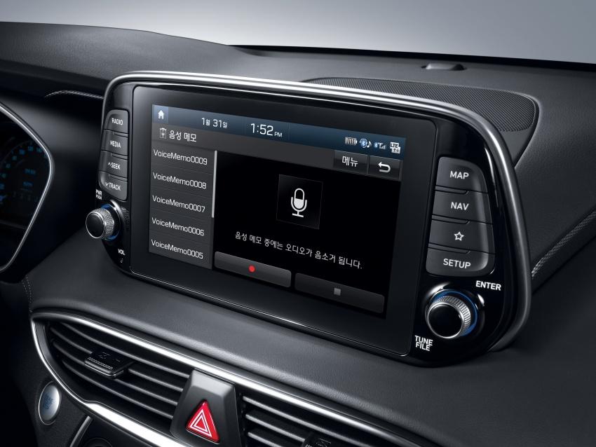 2019 Hyundai Santa Fe – 4th-gen SUV debuts in Korea with 2.0 turbo petrol, 2.2 turbodiesel and 8-speed auto Image #781868