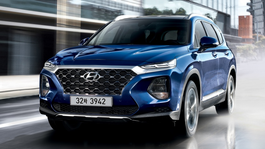 2019 Hyundai Santa Fe – 4th-gen SUV debuts in Korea with 2.0 turbo petrol, 2.2 turbodiesel and 8-speed auto Image #781781