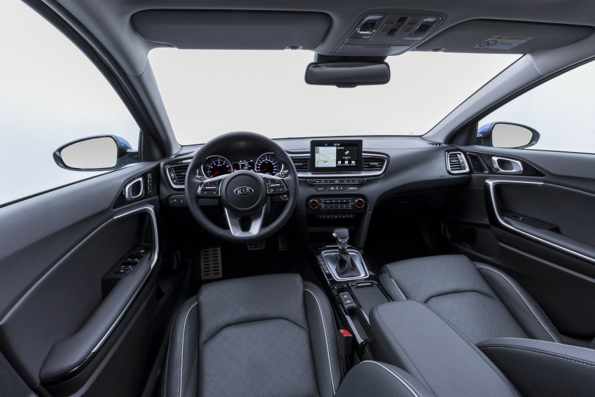 Kia Ceed revealed ahead of Geneva Motor Show – third-gen model gets new styling, name, more tech Image #779672