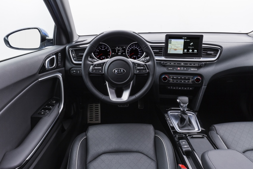 Kia Ceed revealed ahead of Geneva Motor Show – third-gen model gets new styling, name, more tech Image #779673