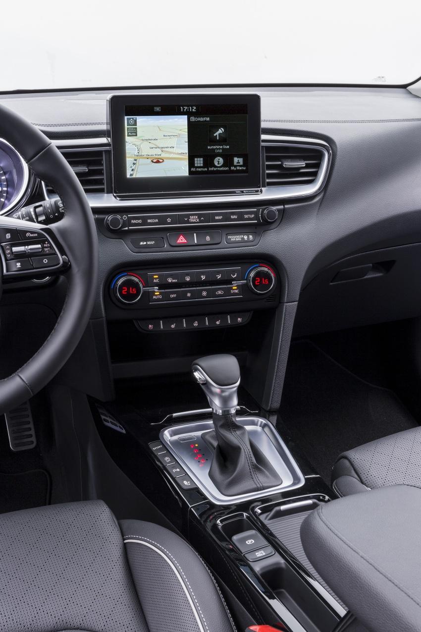 Kia Ceed didedah menjelang Geneva Motor Show – terima gaya, nama baharu dan lebih banyak teknologi Image #780106