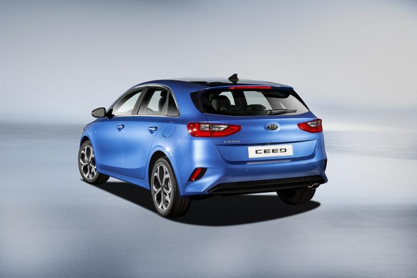 Kia Ceed didedah menjelang Geneva Motor Show – terima gaya, nama baharu dan lebih banyak teknologi Image #780108