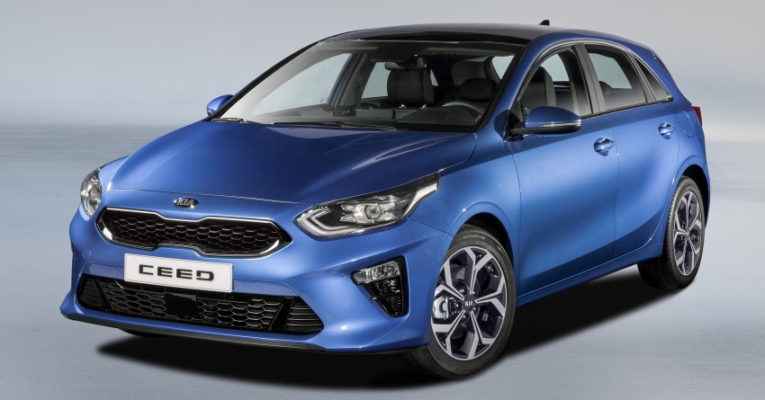 Kia Ceed revealed ahead of Geneva Motor Show – third-gen model gets new styling, name, more tech Image #779676