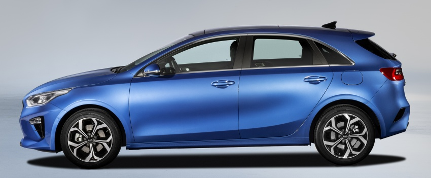 Kia Ceed revealed ahead of Geneva Motor Show – third-gen model gets new styling, name, more tech Image #779677
