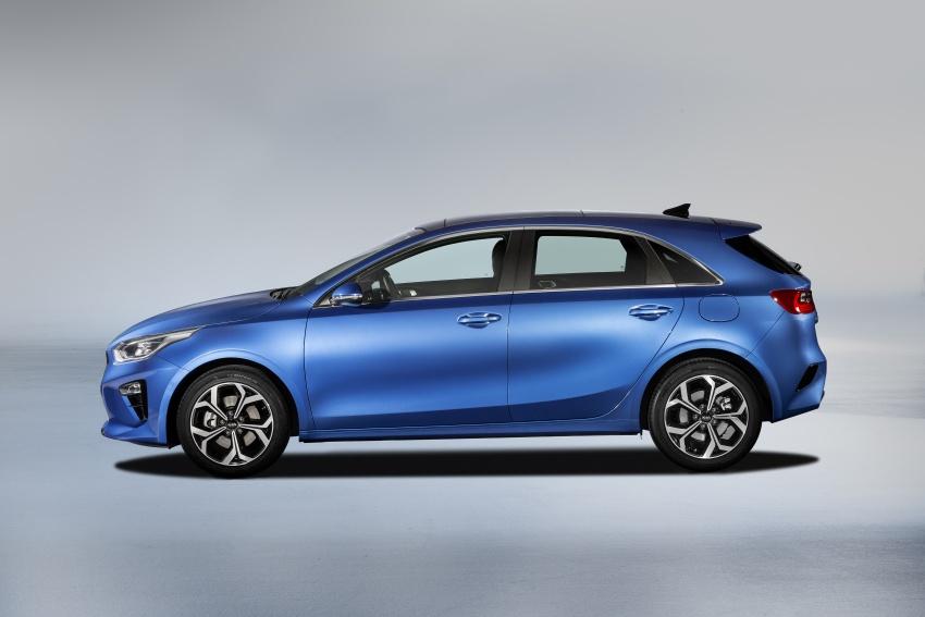 Kia Ceed didedah menjelang Geneva Motor Show – terima gaya, nama baharu dan lebih banyak teknologi Image #780113