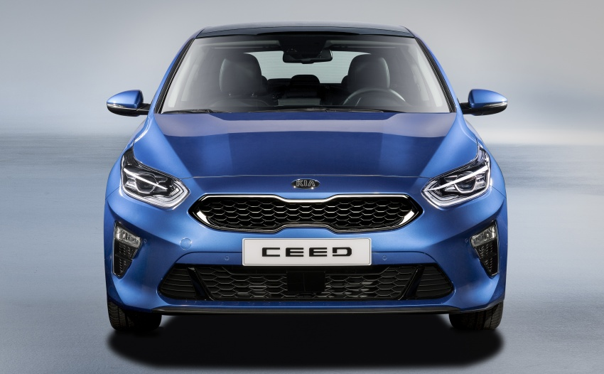 Kia Ceed revealed ahead of Geneva Motor Show – third-gen model gets new styling, name, more tech Image #779679