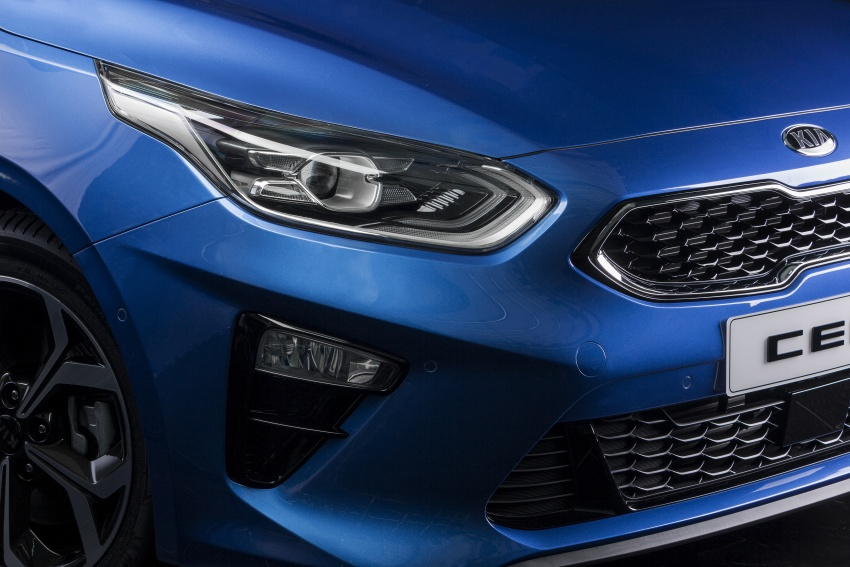 Kia Ceed revealed ahead of Geneva Motor Show – third-gen model gets new styling, name, more tech Image #779681