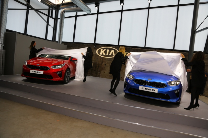 Kia Ceed revealed ahead of Geneva Motor Show – third-gen model gets new styling, name, more tech Image #779683