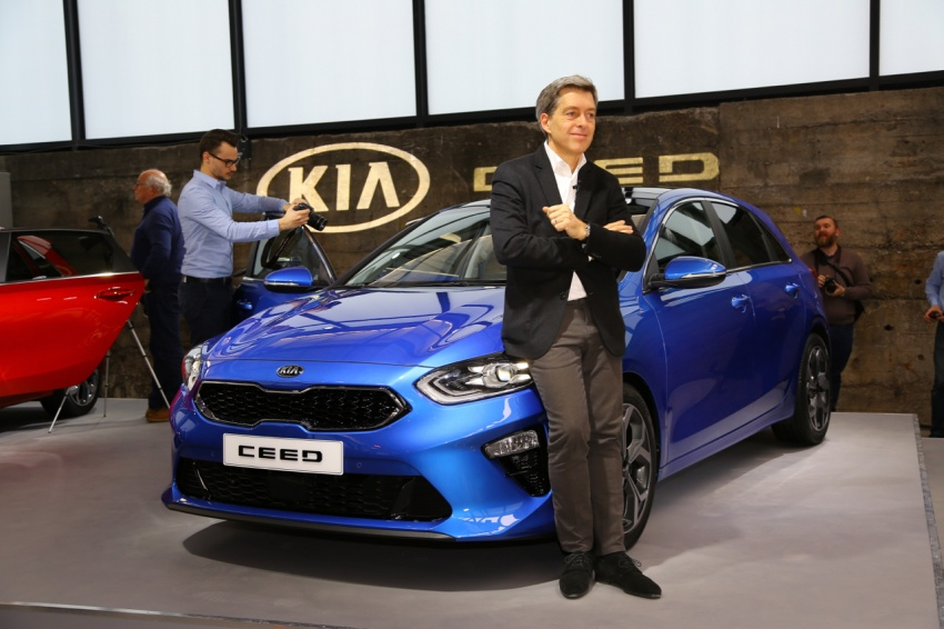 Kia Ceed revealed ahead of Geneva Motor Show – third-gen model gets new styling, name, more tech Image #779688