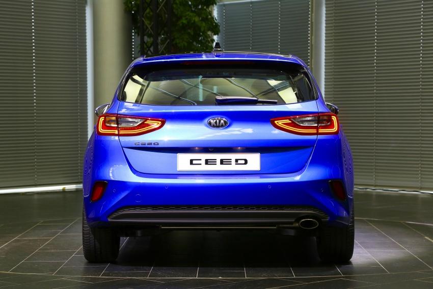 Kia Ceed didedah menjelang Geneva Motor Show – terima gaya, nama baharu dan lebih banyak teknologi Image #779906