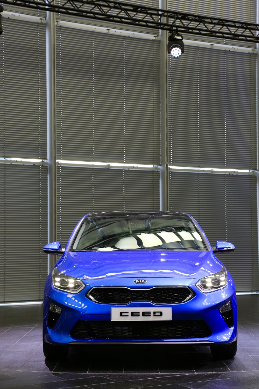 Kia Ceed didedah menjelang Geneva Motor Show – terima gaya, nama baharu dan lebih banyak teknologi Image #779910