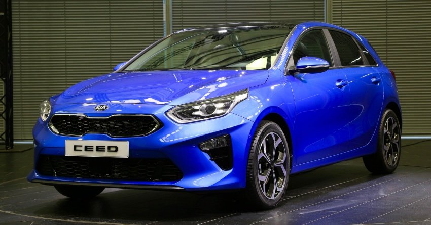 Kia Ceed revealed ahead of Geneva Motor Show – third-gen model gets new styling, name, more tech Image #779564