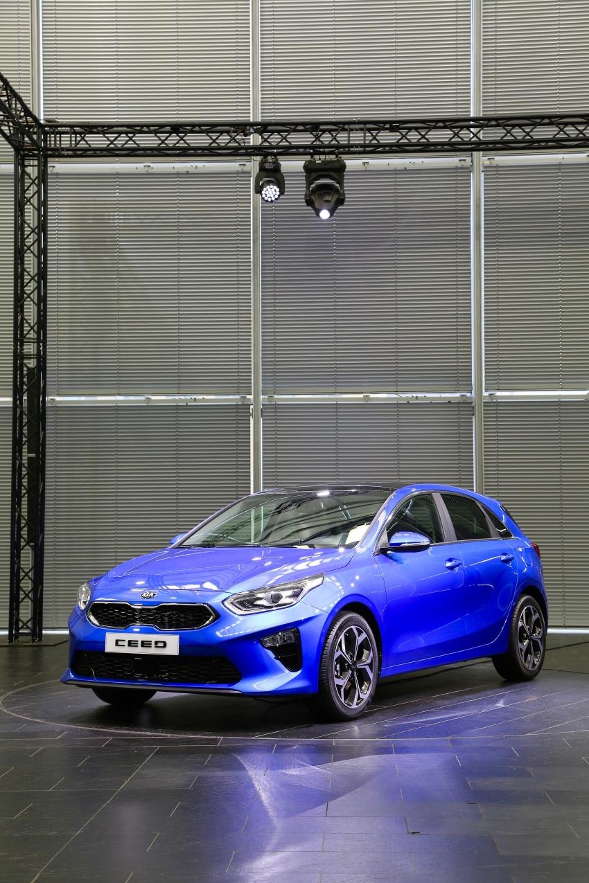 Kia Ceed didedah menjelang Geneva Motor Show – terima gaya, nama baharu dan lebih banyak teknologi Image #779911