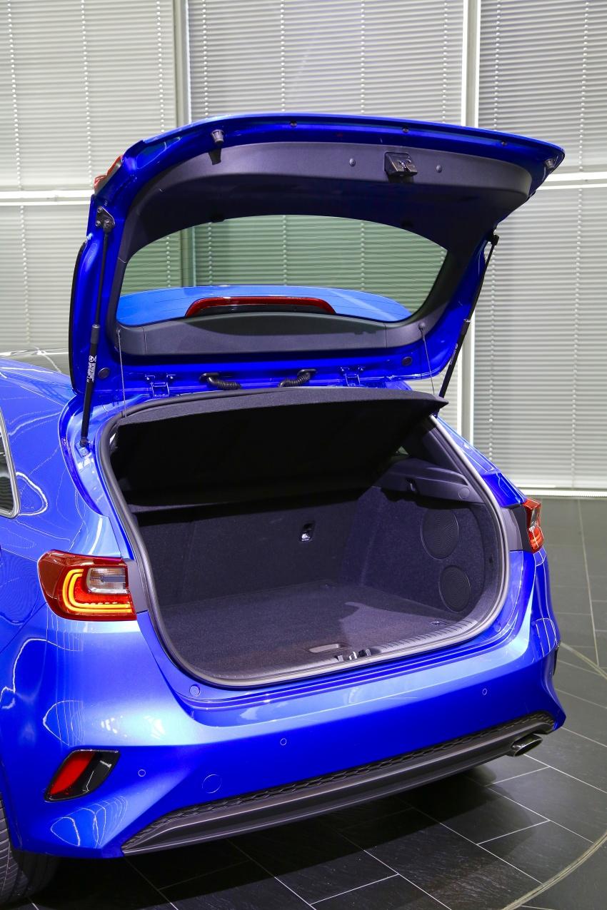 Kia Ceed didedah menjelang Geneva Motor Show – terima gaya, nama baharu dan lebih banyak teknologi Image #779953