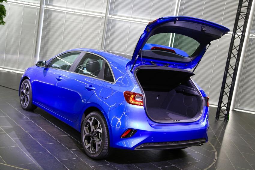 Kia Ceed didedah menjelang Geneva Motor Show – terima gaya, nama baharu dan lebih banyak teknologi Image #779956