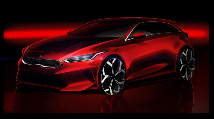 Kia Ceed revealed ahead of Geneva Motor Show – third-gen model gets new styling, name, more tech Image #779656