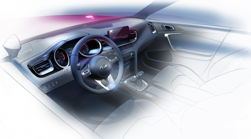 Kia Ceed didedah menjelang Geneva Motor Show – terima gaya, nama baharu dan lebih banyak teknologi Image #780078