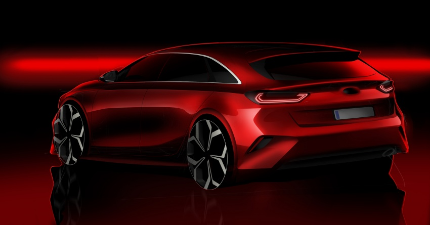 Kia Ceed revealed ahead of Geneva Motor Show – third-gen model gets new styling, name, more tech Image #779658