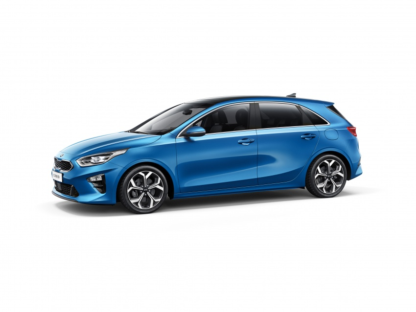 Kia Ceed revealed ahead of Geneva Motor Show – third-gen model gets new styling, name, more tech Image #779660