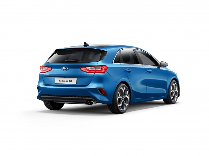 Kia Ceed revealed ahead of Geneva Motor Show – third-gen model gets new styling, name, more tech Image #779661