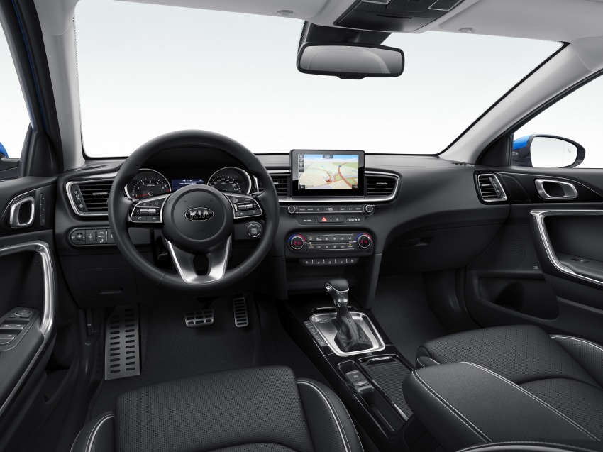 Kia Ceed revealed ahead of Geneva Motor Show – third-gen model gets new styling, name, more tech Image #779662