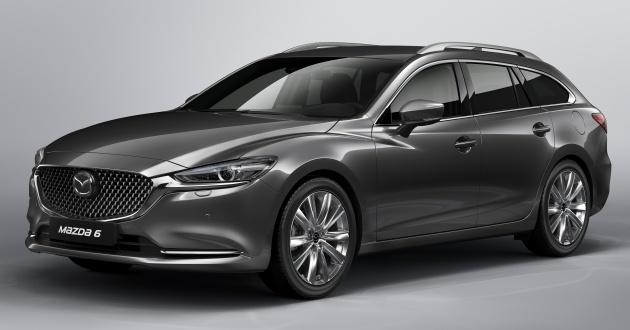 2018 Mazda 6 Wagon facelift revealed before Geneva