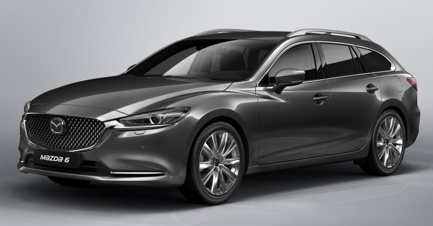Mazda 6 Wagon 2018 – gambar awal mula ditunjukkan Image #776249