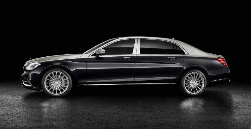 2018 Mercedes-Maybach S-Class officially revealed Image #778649