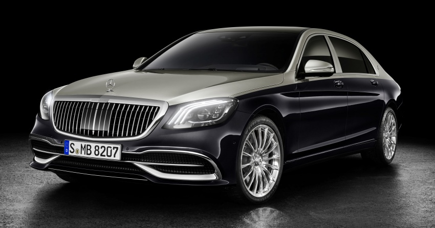 2018 Mercedes-Maybach S-Class officially revealed Image #778650