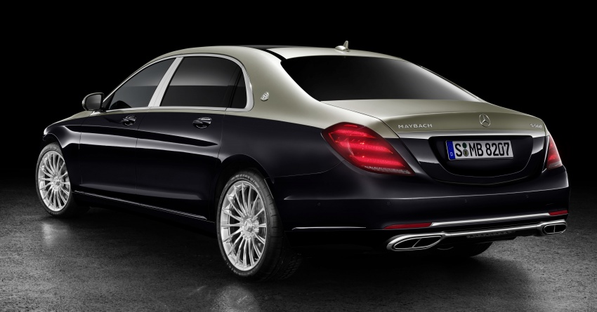 2018 Mercedes-Maybach S-Class officially revealed Image #778651