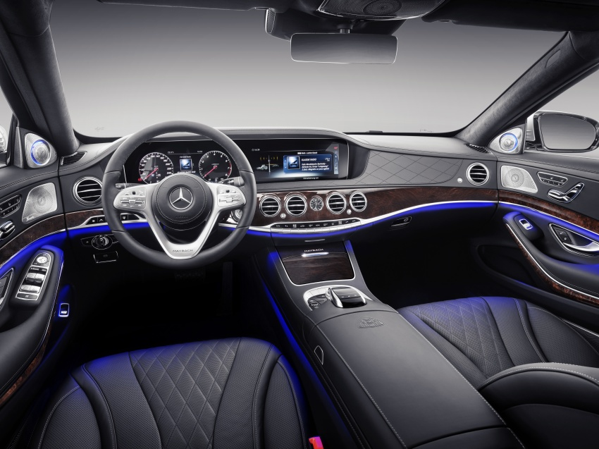 2018 Mercedes-Maybach S-Class officially revealed Image #778653